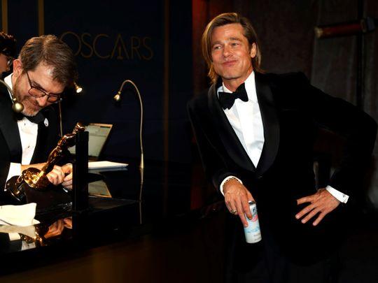 Brad Pitt Governers Ball Reuters-1581330417575