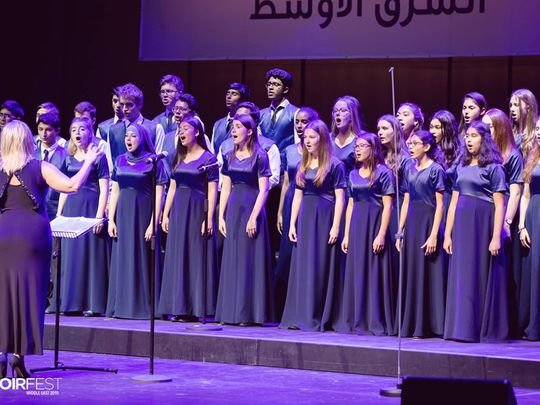 ChoirFest Mid East galas announced: Extra show added in Dubai