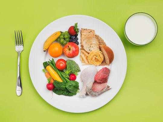 Dubai Health Authority children diet