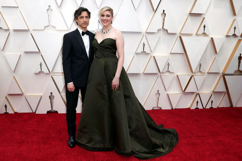 Greta Gerwig and Noah Baumbach.