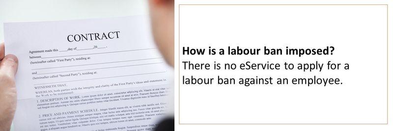 Labour ban 12