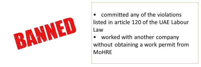 Labour ban 16