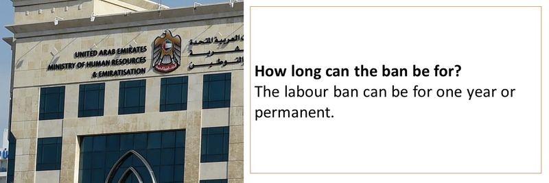 Labour ban 19