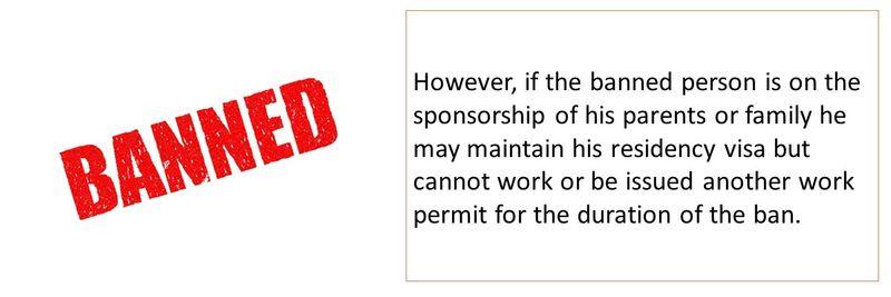 Labour ban 21