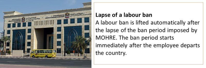 Labour ban 30