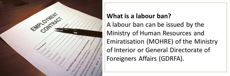 Labour ban 3