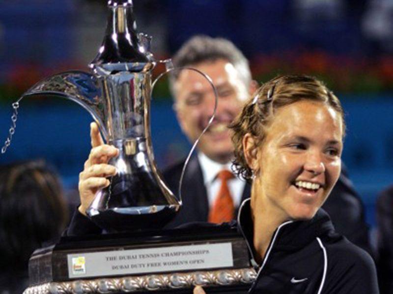 Lindsay Davenport wins in Dubai in 2005