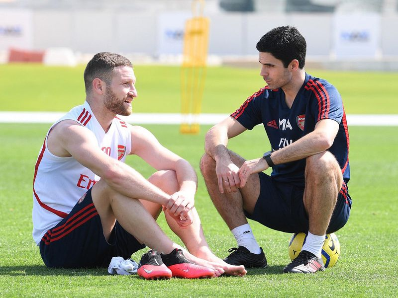 Mikel Arteta has his Arsenal players listening to his ideas in Dubai