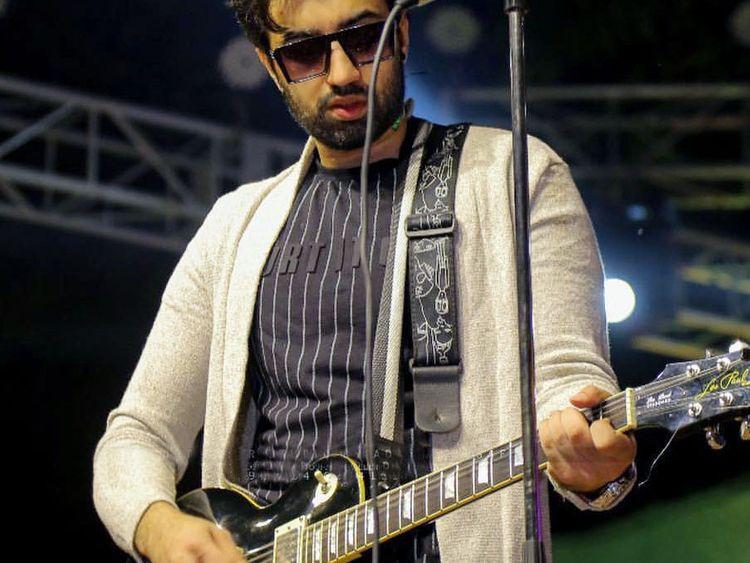 Rabi Ahmad of Soch band.