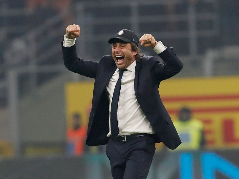 The result, coupled with Juventus' shock defeat to Verona, meant Conte's Inter are top of Serie A
