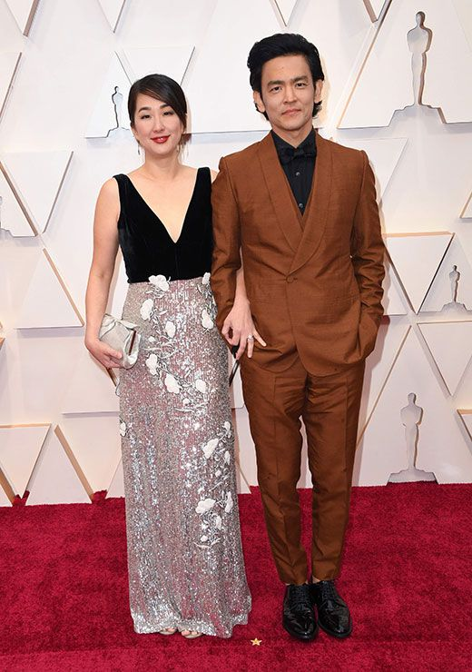 US-Korean actor John Cho and his wife actress Kerri Higuchi