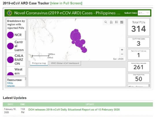 ncov cases philippines coronavirus