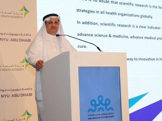 Dubai Health Authority UAE Healthy Future Study