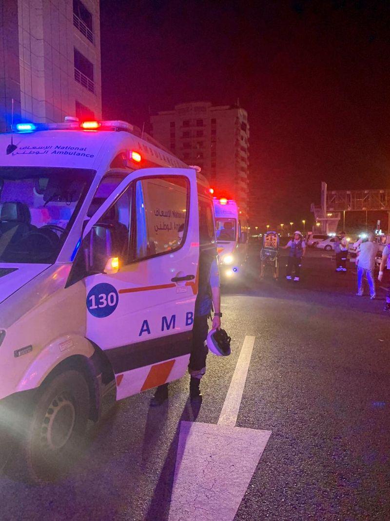 Five injured in Umm Al Quwain Building Fire
