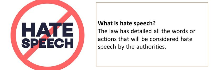 Hate speech 5