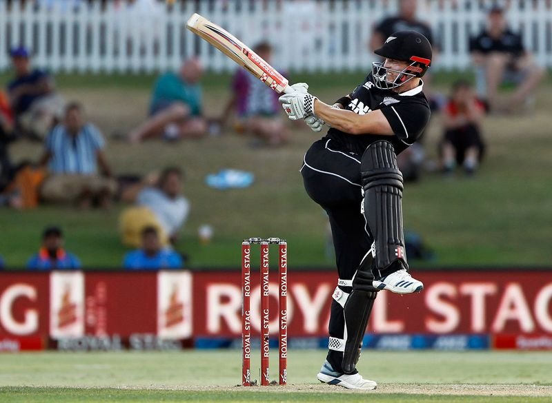 New Zealand came out flying and were and Henry Nicholls was among the top scorers