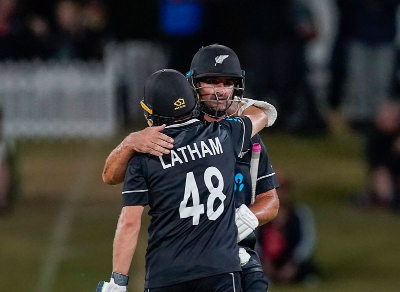 New Zealand swept India 3-0 in the ODI series