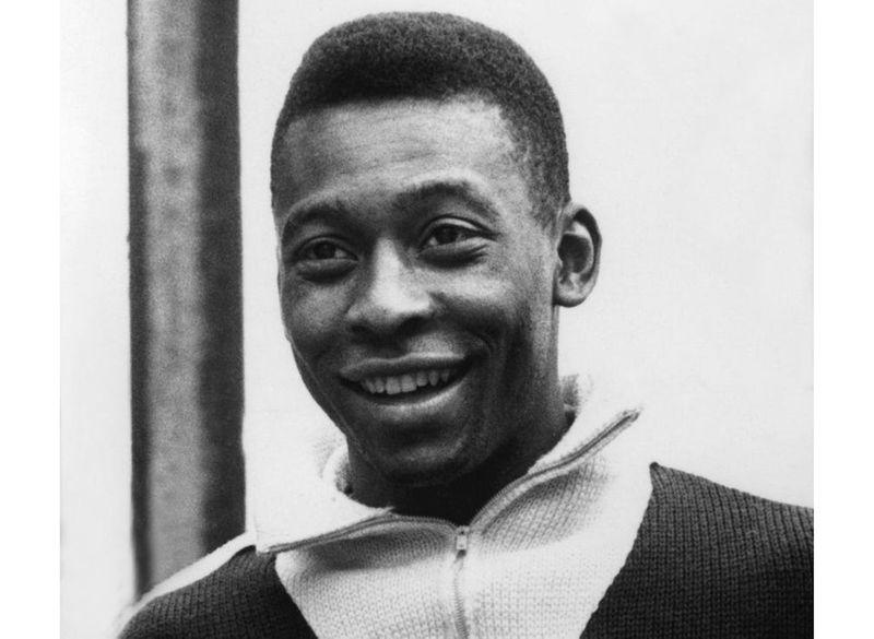 Pele in 1962