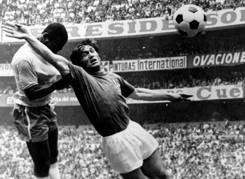 Pele in 1970
