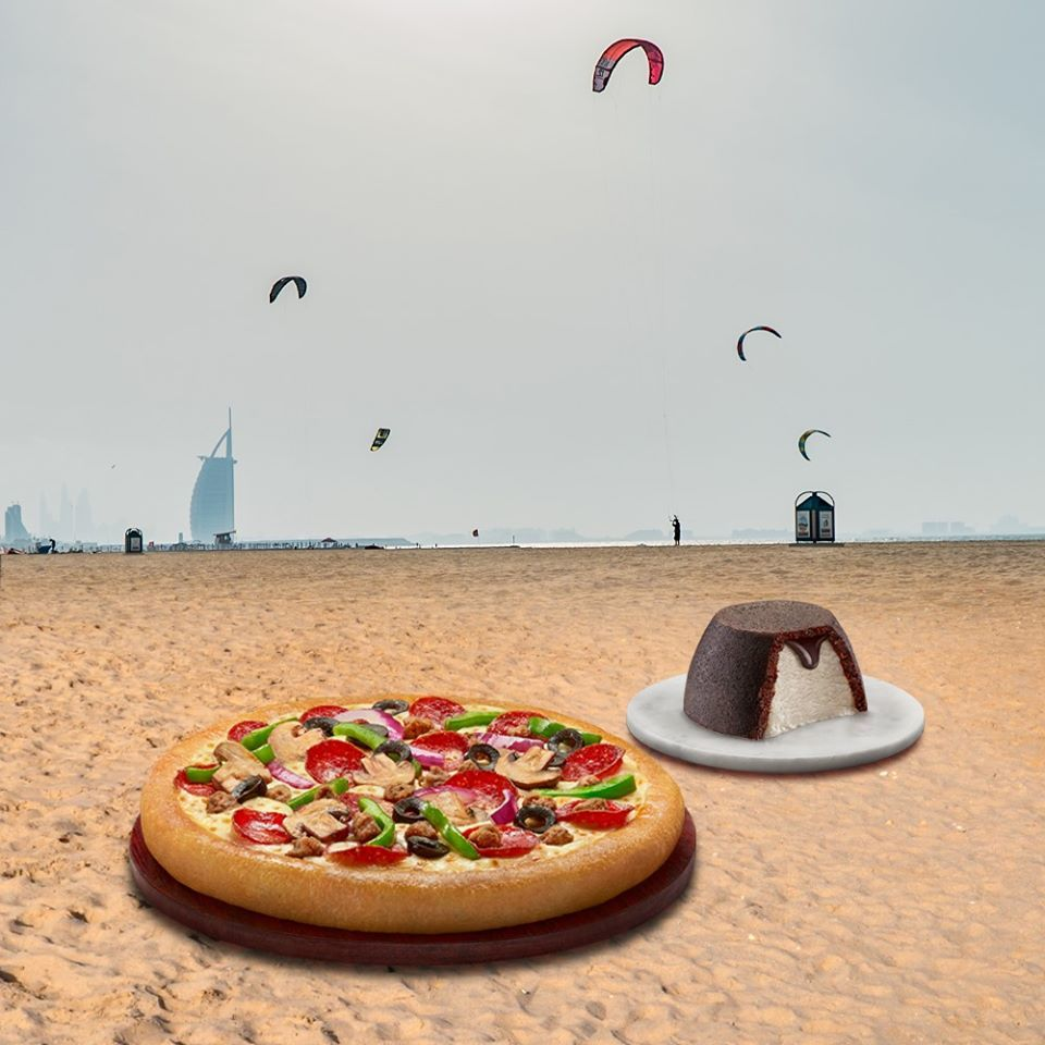 Pizza Hut & Wall's at Kite Beach