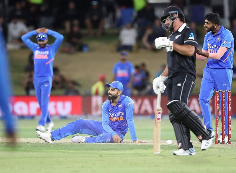 Virat Kohli was lost for answers after the 3-0 whitewash
