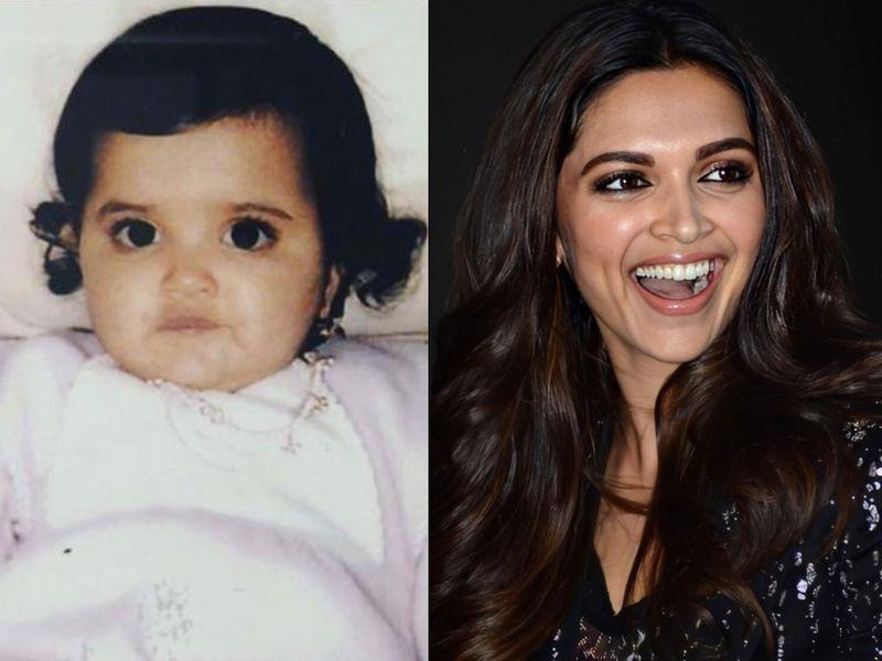 Deepika Padukone Childhood pic