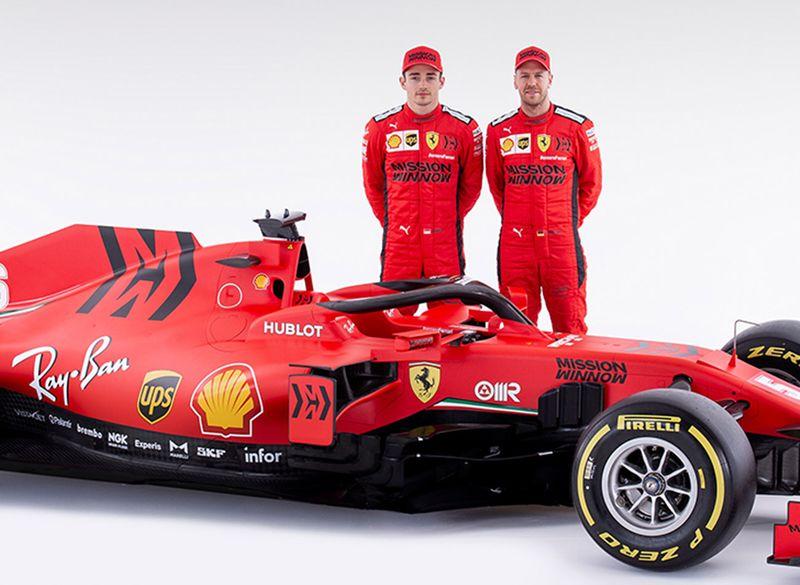 Ferrari 2020 model