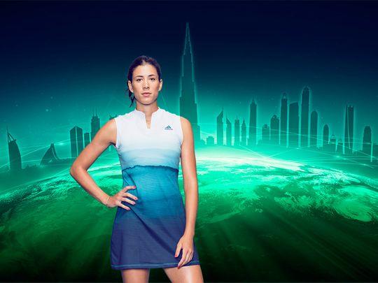 Garbine Muguruza is coming back for the Dubai Duty Free Tennis Championships