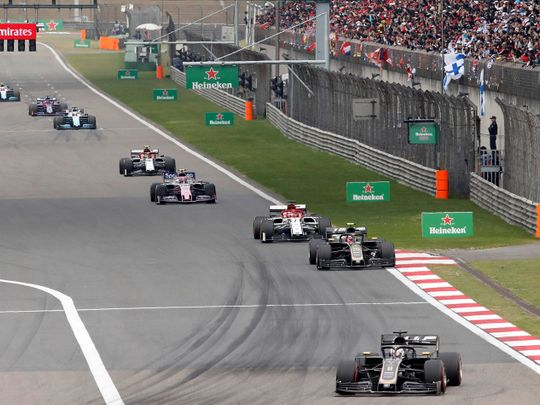 Lewis Hamilton won the Chinese GP in 2019