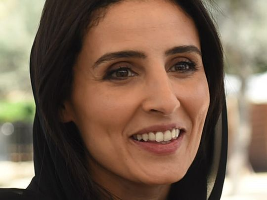 Razan Khalifa Al Mubarak, managing director of the Mohamad bin Zayed Species Conservation Fund and the Environment Agency – Abu Dhabi