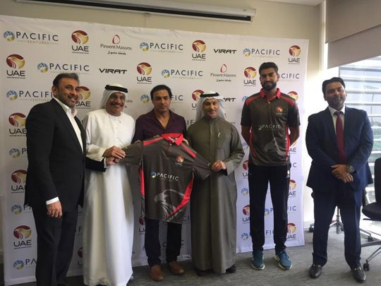 Robin Singh is unveiled as the new UAE coach