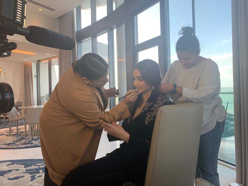 Sonam Kapoor in Abu Dhabi