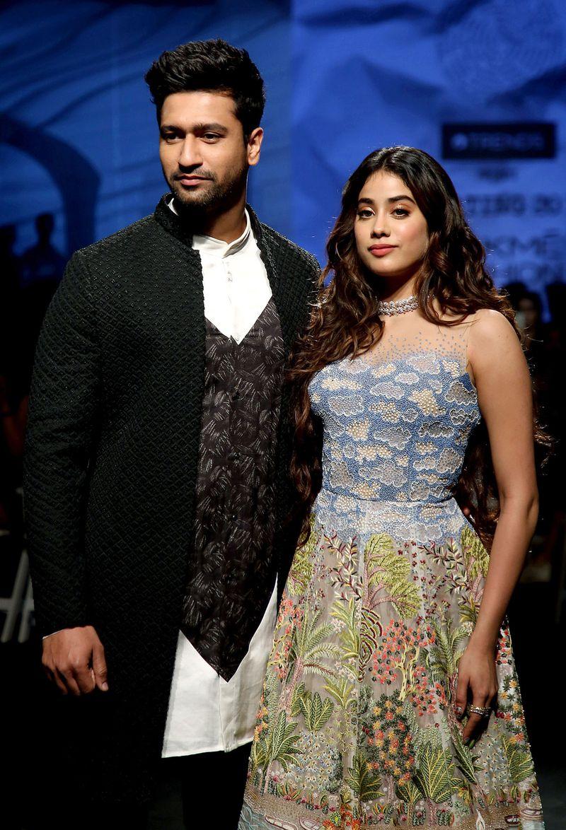 Vicky Kaushal and Janhvi Kapoor