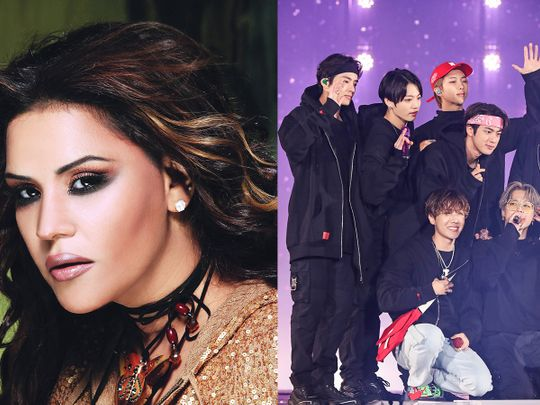 Ahlam says she is collaborating with BTS