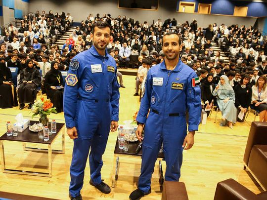 Hazzaa Al Mansoori and Sultan Al Neyadi