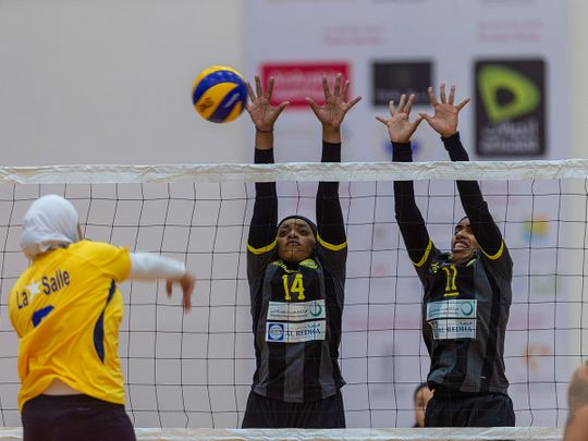 The volleyball concluded AWST 2020