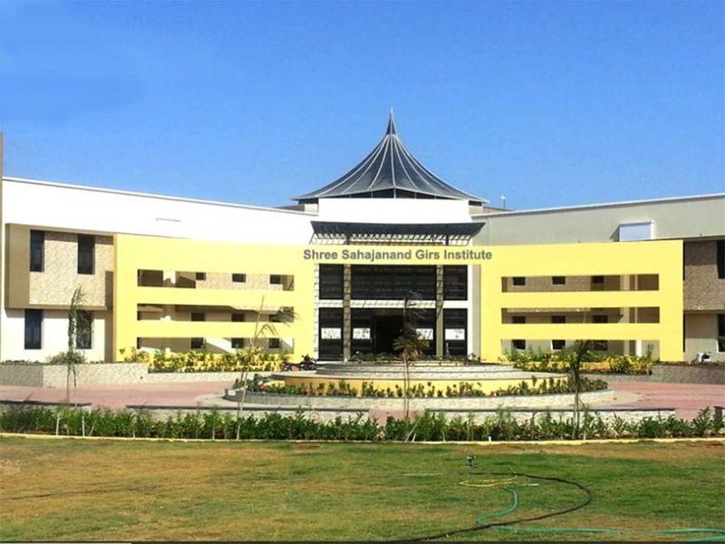 A view of the Shree Sahajanand Girls Institute