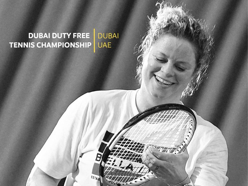 Kim Clijsters ready for Dubai Duty Free Tennis Championships