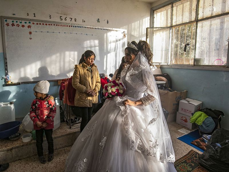 Love in a time of war: Weddings in Middle East hotspots