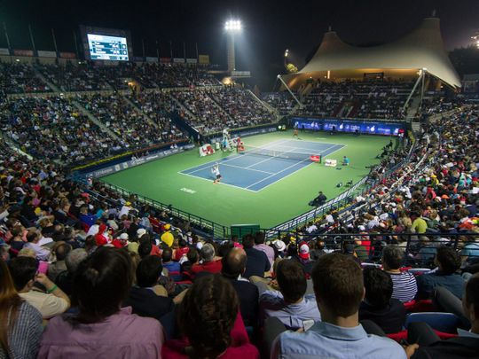 The Dubai Duty Free Tennis Championships start this weekend
