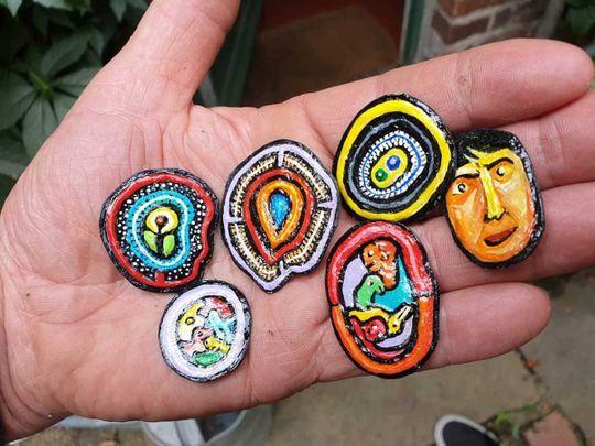 200215 bubble gum art