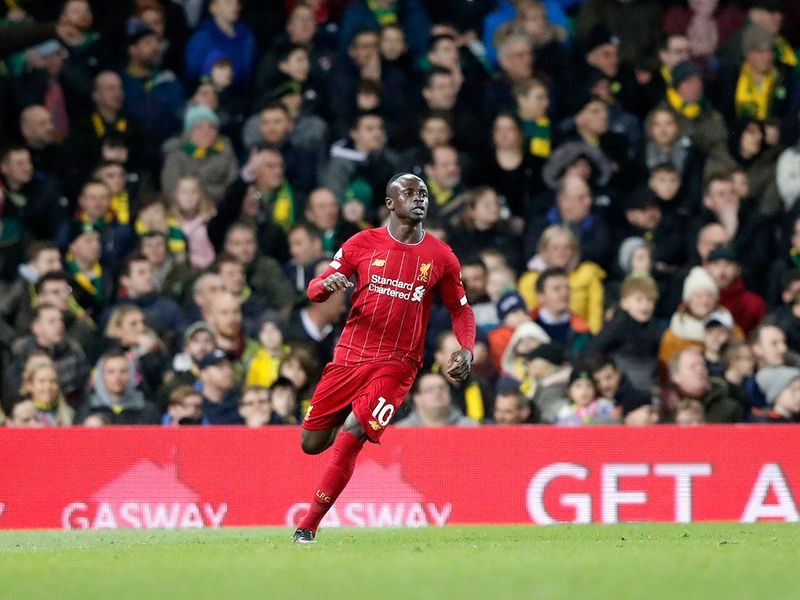 Liverpool's Sadio Mane marked his return from injury with a late goal to break Norwich City's resistance and secure a 1-0 win on Saturday to extend his side's Premier League lead to 25 points. On a windy evening, bottom club Norwich were proving a tough nut to crack for Juergen Klopp's team but Senegalese forward Mane, who came on as a substitute on the hour, pounced to drill home a fine finish from inside the area in the 78th minute.