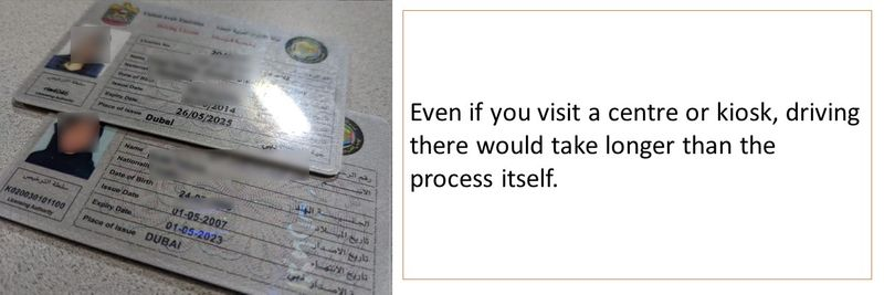 How To Renew Your Uae Driving Licence In 10 Minutes Living Transport Gulf News