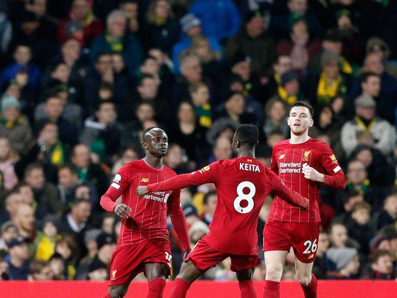 Liverpool v Norwich