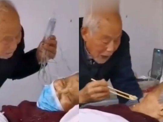 Old man coronavirus