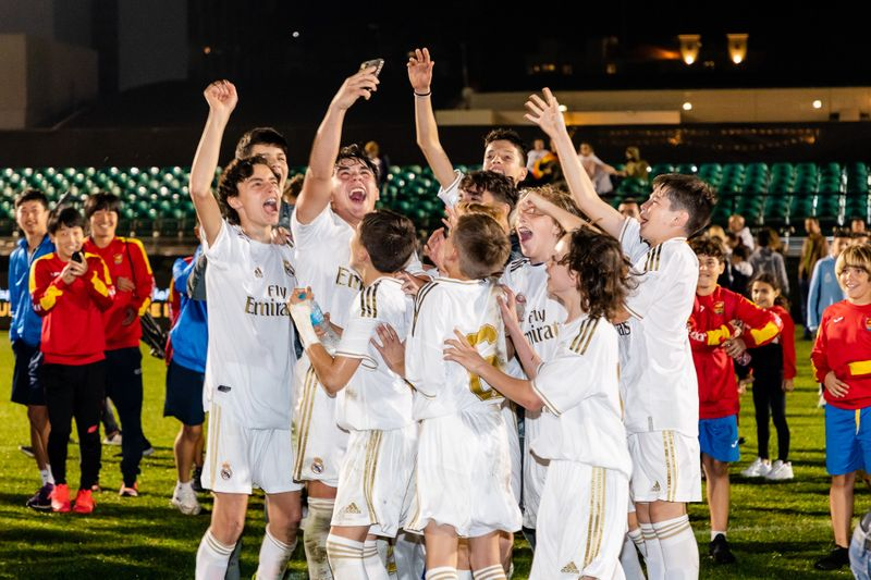 Real Madrid edged Inter Milan on penalties in a thriller at Dubai Sports City on Saturday night to win the Gold Cup at the 4th U13 Dubai Intercontinental Football Cup.