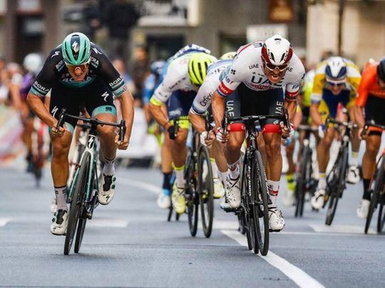 Kristoff finishes second in Almeria