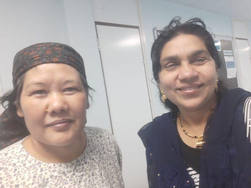 Nepali woman memory loss