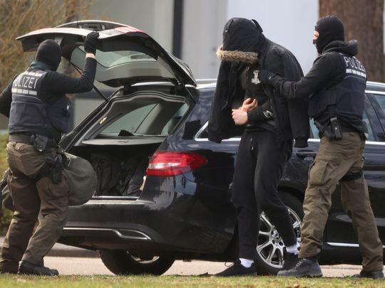 WLD 200217 GERMANY POLCIE RAID-1581952003394