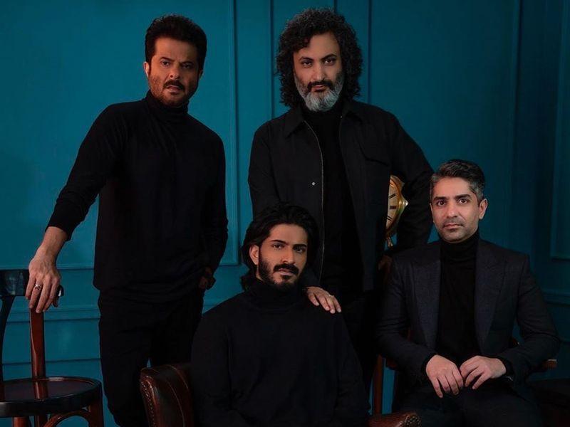Anil Kapoor, Harshvarrdhan Kapoor, Abhinav Bindra
